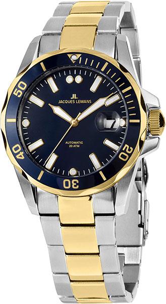 Мужские часы Jacques Lemans 1-2014F мужские часы jacques lemans мужские часы 1 1675f