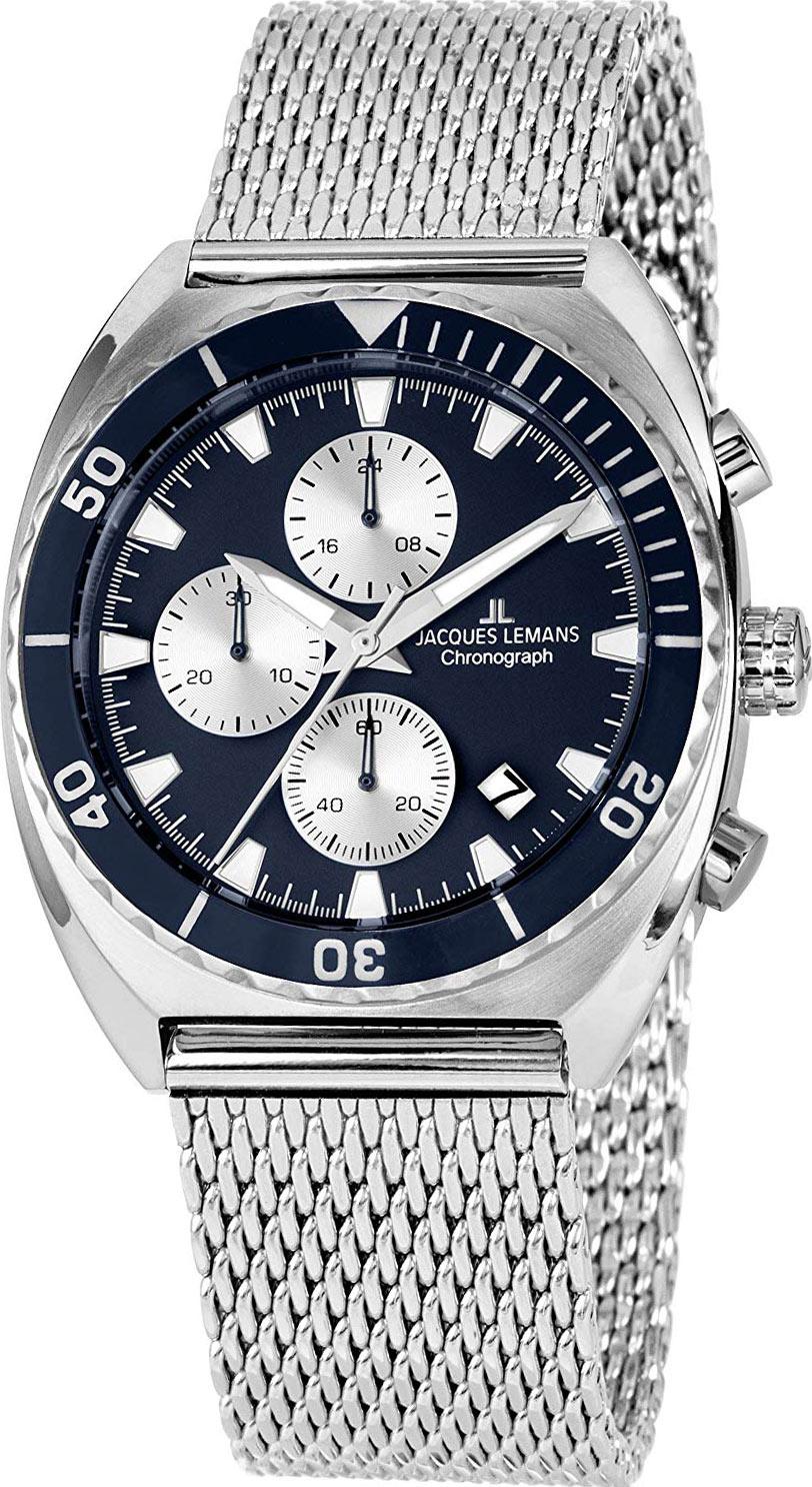 цена Мужские часы Jacques Lemans 1-2041G-ucenka онлайн в 2017 году