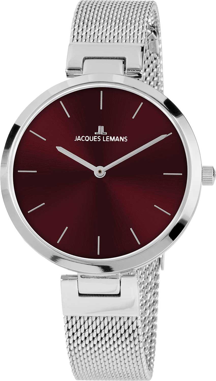 Фото - Женские часы Jacques Lemans 1-2110E наручные часы jacques lemans 1 2110e