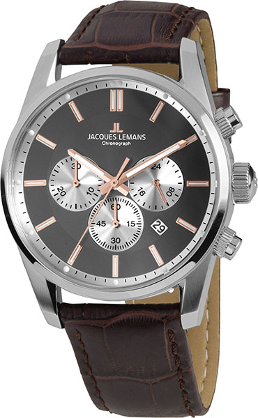 Мужские часы Jacques Lemans 42-6C jacques lemans jl 42 6c