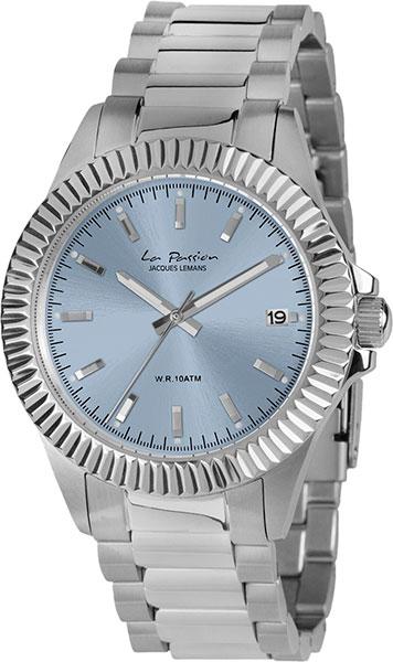 цена Женские часы Jacques Lemans LP-125G онлайн в 2017 году