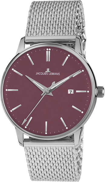 цена Мужские часы Jacques Lemans N-213N онлайн в 2017 году