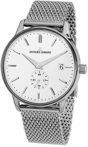 цена Мужские часы Jacques Lemans N-215F онлайн в 2017 году