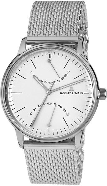 цена Мужские часы Jacques Lemans N-218F онлайн в 2017 году