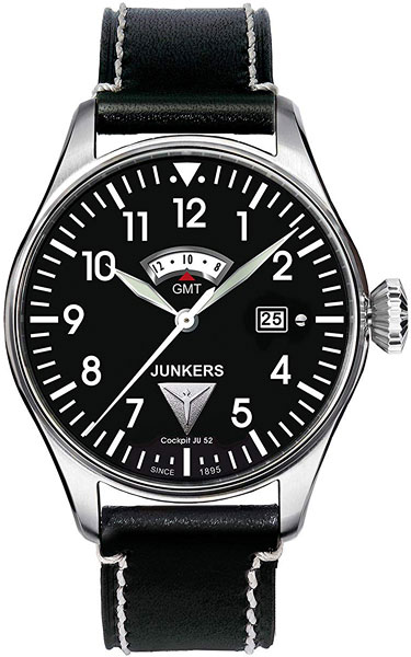 цена Мужские часы Junkers Jun-61402 онлайн в 2017 году