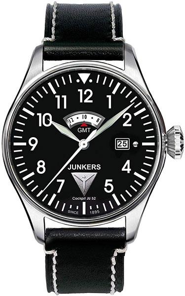 Мужские часы Junkers Jun-61402 junkers твердотопливные котлы 8 36 квт