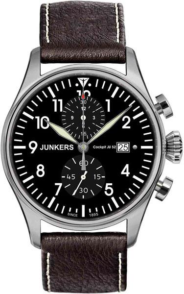 Мужские часы Junkers Jun-61782 junkers твердотопливные котлы 8 36 квт