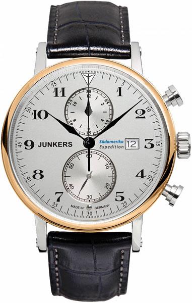 Мужские часы Junkers Jun-65865-ucenka junkers твердотопливные котлы 8 36 квт