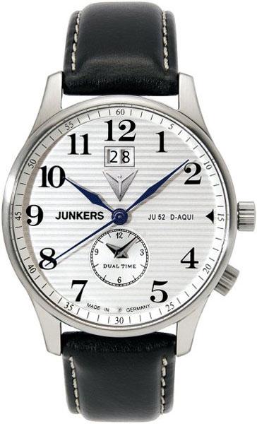 цена  Мужские часы Junkers Jun-66401  онлайн в 2017 году