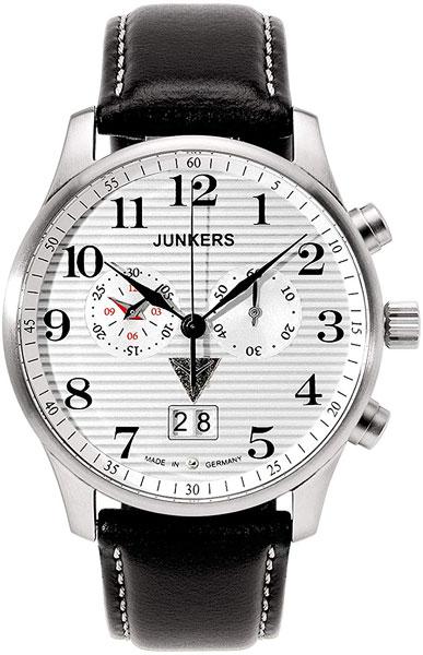 цена Мужские часы Junkers Jun-66861-ucenka онлайн в 2017 году