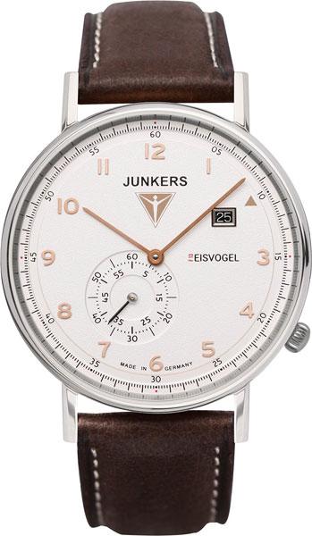 Мужские часы Junkers Jun-67304-ucenka junkers твердотопливные котлы 8 36 квт