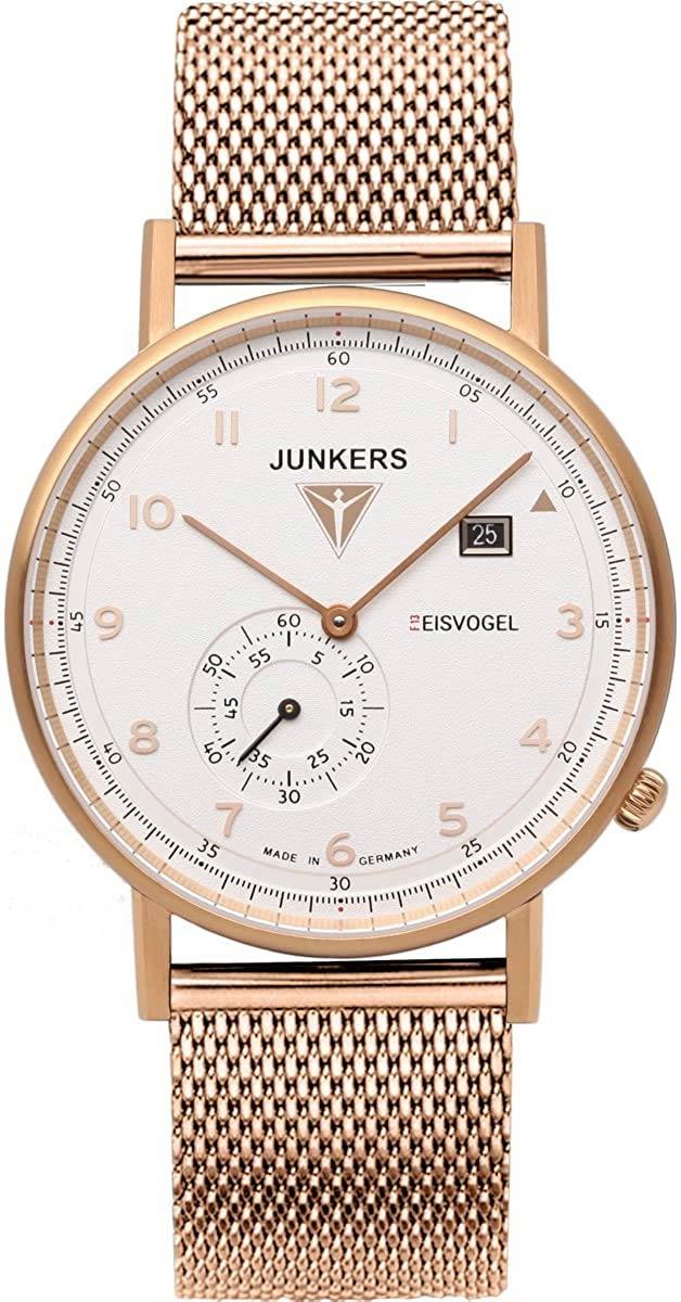 Мужские часы Junkers Jun-6732M4 junkers твердотопливные котлы 8 36 квт