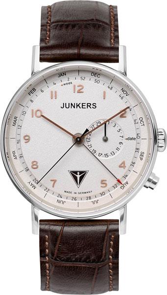 Мужские часы Junkers Jun-67344 junkers твердотопливные котлы 8 36 квт