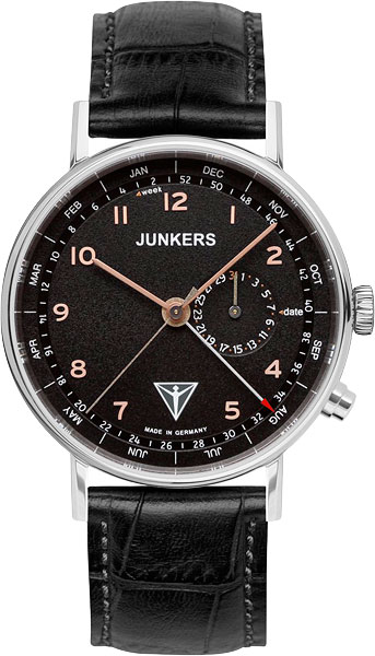 Мужские часы Junkers Jun-67345-ucenka junkers твердотопливные котлы 8 36 квт