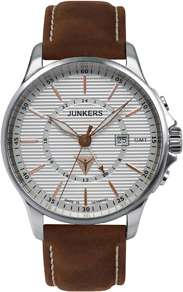 Мужские часы Junkers Jun-68424 junkers твердотопливные котлы 8 36 квт