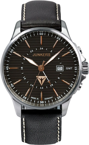 Мужские часы Junkers Jun-68425 junkers твердотопливные котлы 8 36 квт