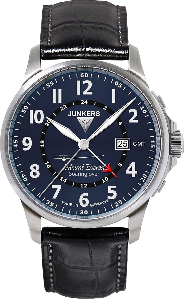 цена Мужские часы Junkers Jun-68443 онлайн в 2017 году