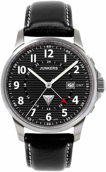 цена Мужские часы Junkers Jun-68482 онлайн в 2017 году