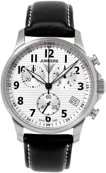 цена Мужские часы Junkers Jun-68901 онлайн в 2017 году