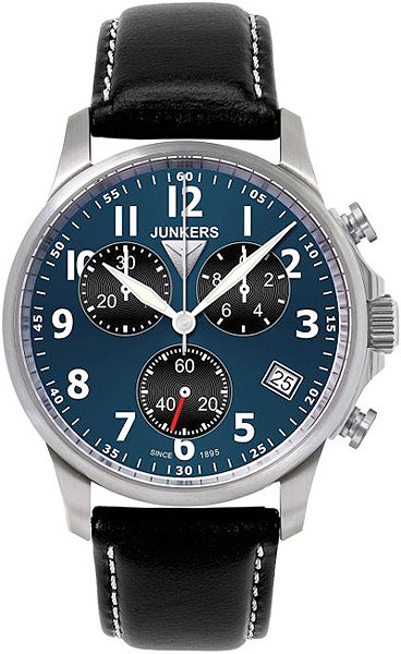 цена Мужские часы Junkers Jun-68903 онлайн в 2017 году