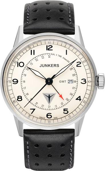 Мужские часы Junkers Jun-69465 junkers твердотопливные котлы 8 36 квт