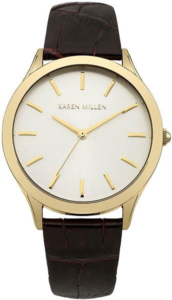 цена Женские часы Karen Millen KM106TG онлайн в 2017 году