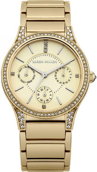Фото - Женские часы Karen Millen KM107GM женские часы karen millen km107gm