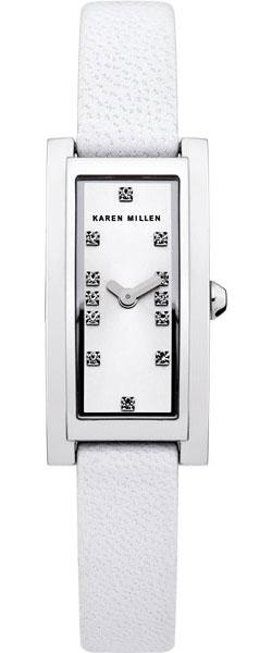 Фото - Женские часы Karen Millen KM120W женские часы karen millen km107gm