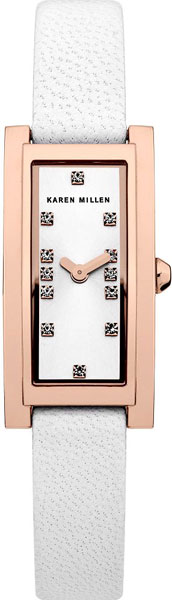 Фото - Женские часы Karen Millen KM120WRG женские часы karen millen km107gm