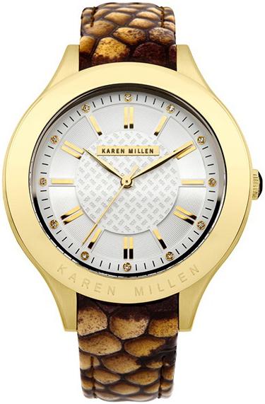 Фото - Женские часы Karen Millen KM124TG женские часы karen millen km107gm