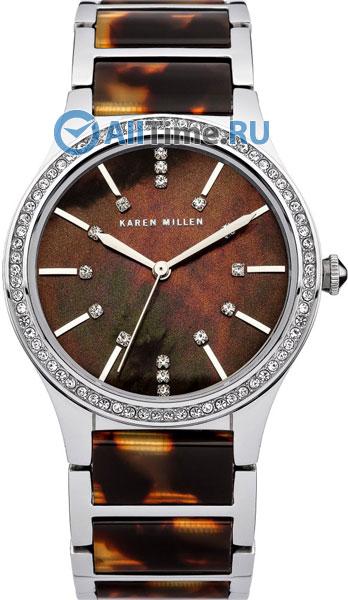 Женские часы Karen Millen KM128SM русские подарки подсвечник снеговик