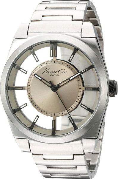 Мужские часы Kenneth Cole 10027838 u7 2016 новая мода силиконовая и нержавеющая сталь браслет мужчины изделий 18k позолоченный браслеты