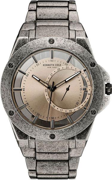 Мужские часы Kenneth Cole 10030787 браслет стальной к часам маурицио