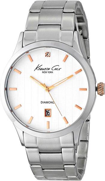 Мужские часы Kenneth Cole IKC9367 браслет стальной к часам маурицио