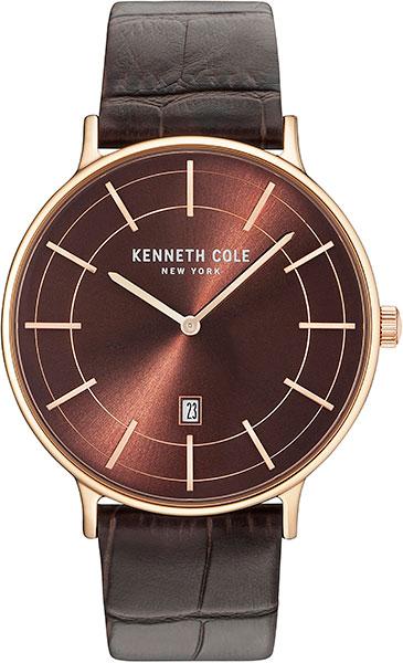 Мужские часы Kenneth Cole KC15057013 jey cole man классические брюки