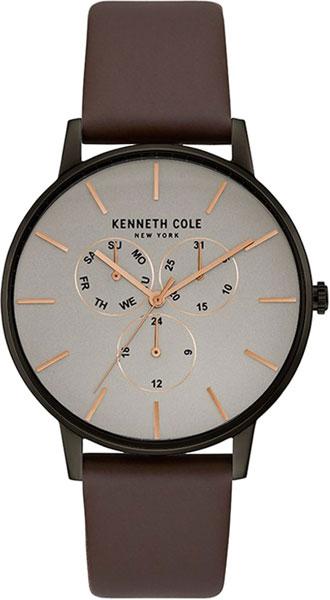 Мужские часы Kenneth Cole KC50008002 ремешок для мужских часов широкий