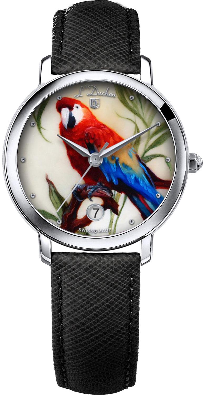 Женские часы L Duchen D.801.1.LAZURNYJ.POPUGAJ