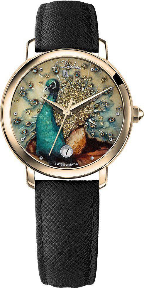 Женские часы L Duchen D.801.2.PERLAMUTROVYJ.PAVLIN