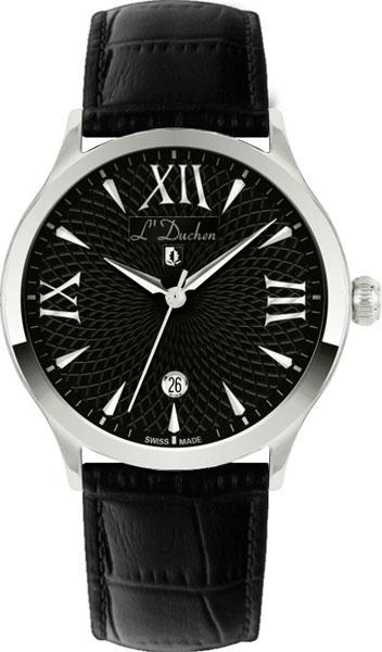 Швейцарские мужские часы в коллекции Philosophie Мужские часы L Duchen D131.11.11 фото