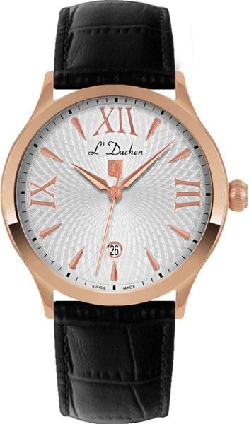Фото - Мужские часы L Duchen D131.41.13 кеды мужские vans ua sk8 mid цвет белый va3wm3vp3 размер 9 5 43