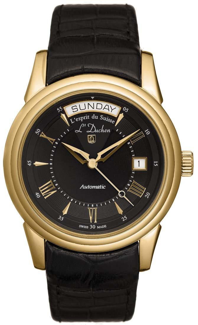 Мужские часы L Duchen D143.21.11B мужские часы l duchen d821 11 31