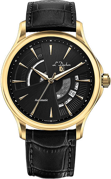 Швейцарские мужские часы в коллекции Collection 153 Мужские часы L Duchen D153.21.31 фото