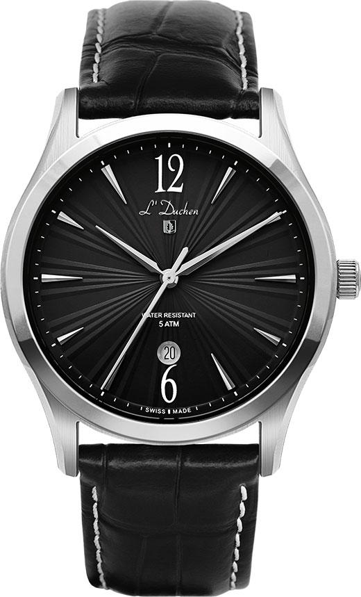 Швейцарские мужские часы в коллекции Lumiere Мужские часы L Duchen D161.11.21 фото