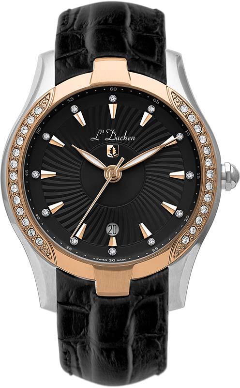 Швейцарские женские часы в коллекции Collection 201 Женские часы L Duchen D201.51.31 фото
