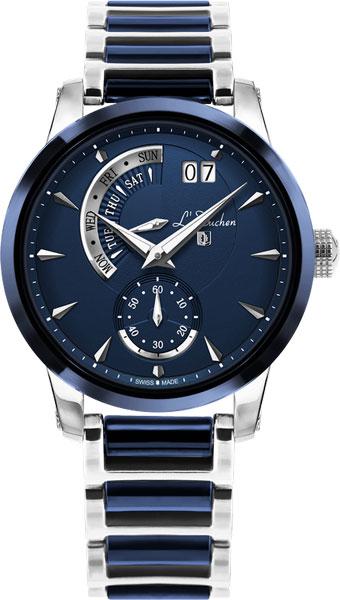 Швейцарские мужские часы в коллекции Chrono / Multifunction Мужские часы L Duchen D237.30.31 фото