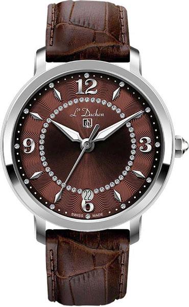 Женские часы L Duchen D281.12.38 цена и фото
