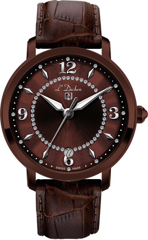 Женские часы L Duchen D281.62.38 дизайн панков турецкий браслеты для глаз для мужчин женщины новая мода браслет женский сова кожаный браслет камень