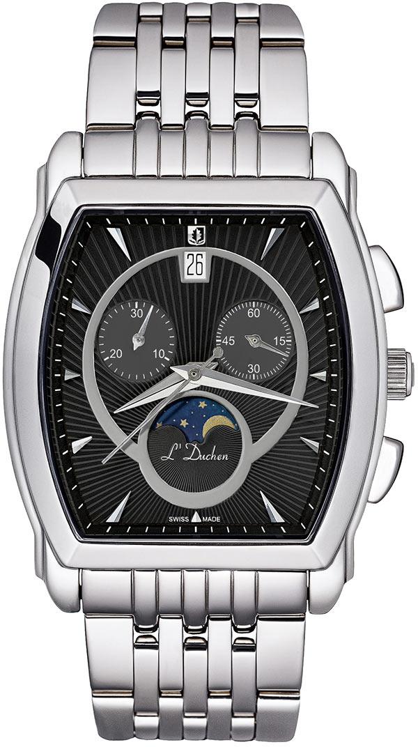 Мужские часы L Duchen D337.10.31 l duchen часы l duchen d337 11 32 коллекция moonphase chronorgaph