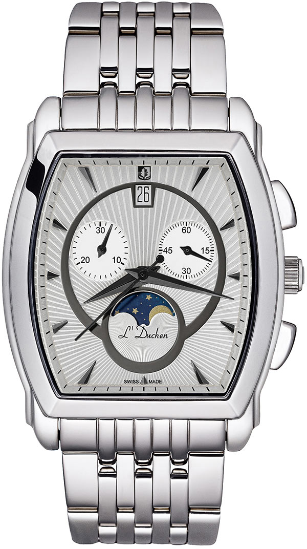 цена Мужские часы L Duchen D337.10.32 онлайн в 2017 году