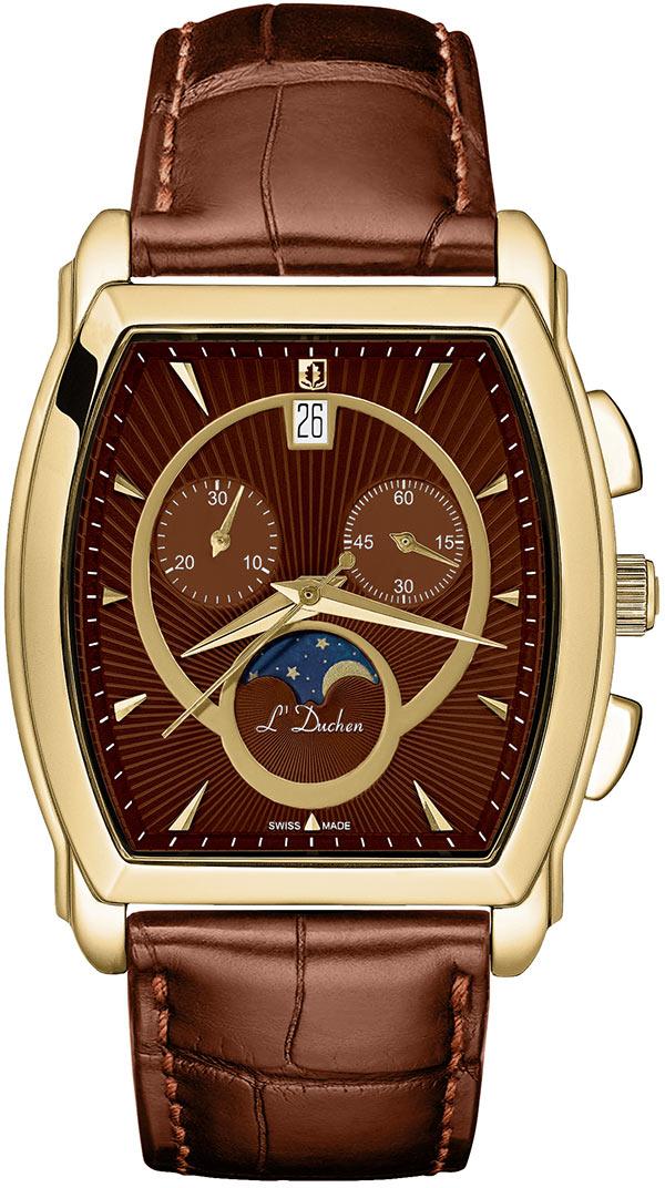 цена Мужские часы L Duchen D337.21.38 онлайн в 2017 году